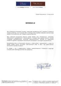 MCC Mazurkas Conference Centre & Hotel Sp. z o.o.